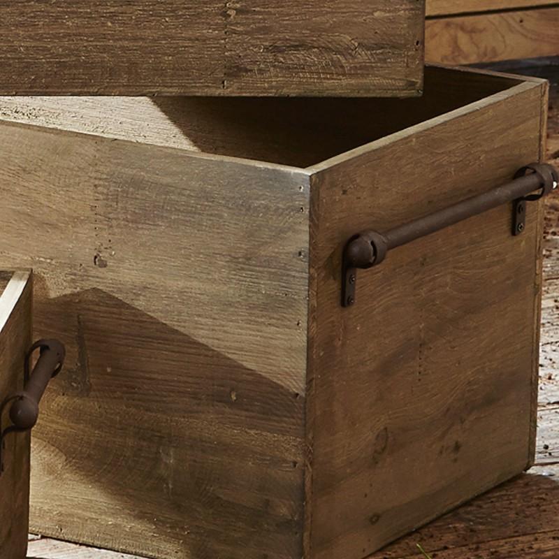 Mooie Houten Box.Creatief Met Houten Kisten Lionshome